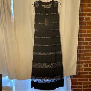 BCBG MAXAZRIA LONG DRESS/ GOWN ANGIE LACE NWT